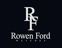 Rowen Ford logo design