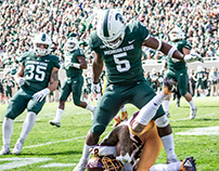 Michigan State vs. CMU | Photography | Sept. 29, 2018