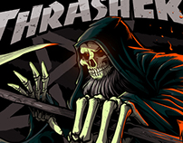 THRASHER MAGAZINE : Grim Reaper Concept