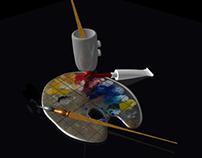 Modelisation 3D / Student Work