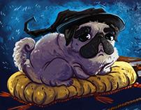 Philosopher Pug