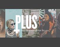PLUS contraceptive app concept design
