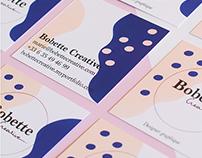 Identité Visuelle - Bobette Creative