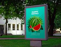 Watermelon Festival Poster Design