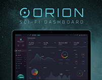 ORION – Sci-Fi Dashboard