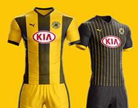 Football Kit Concept designs