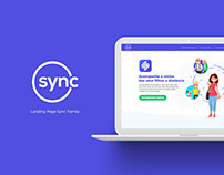 Landing Page Sync Family