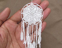 Miniature Papercut - Dreamcatcher