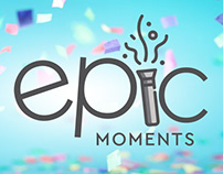 Epic Moments: Brand Identity (Version 2)