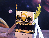 Space Collection Paper Toys