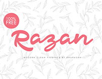 Razan Script - Free for Personal & Commercial Use