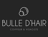 Bulle d'hair - branding