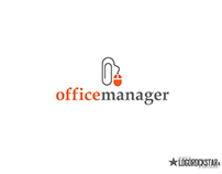 Online office-assistant logo & identity