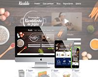 """[Kicaldo] Landing Page promoção """"Kicaldinho de Feijão"""""""