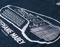 Stephanie Mabey - Omnichord Tee, Postcard, and GIF
