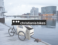 Christiania Bikes web design