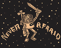 Publicis Machine 'Never Afraid' Wall