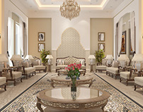 Private palace in Dammam, Saudi Arabia