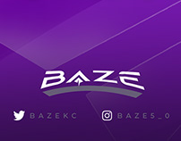 """BAZE"" Branding + Twitch Package [ANIMATED]"