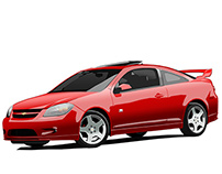 2005 Cobalt SS Supercharged Vector Illustration