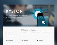 Kyston - Website Design