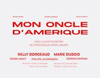 Mon Oncle D'Amérique (graphic image film)