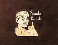 Sunda Baheula Line Sticker