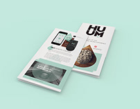 Huum - Brochure Design