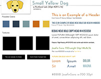 Plans, Logos and Business Cards for SmallYellowDog.com