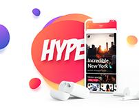 Hype Mobile App