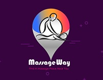 Massage Way .. Logo Design _ social media