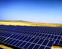 7MWp solar park in Isparta Turkey #SUNEL ENERJI