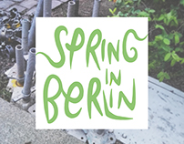 Conceptual Photography Project | SPRING IN BERLIN