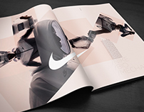 Nike 'Biomechanics' spec print ad
