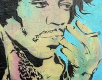 Hendrix - Painting