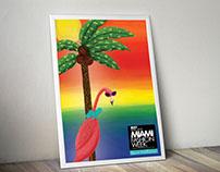 Miami Fashion Week Poster