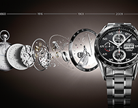 TAG HEUER PRODUCT CAMPAIGN
