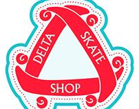Delta Skate Shop Logo