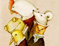 White rabbit & the jurors