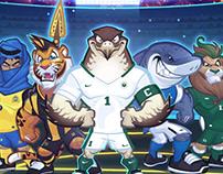 SAAF & SPL Mascot Designs