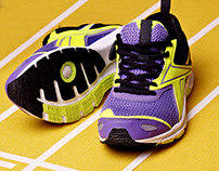Shoes for runing!On trek.Advertising