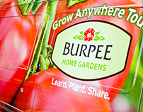 Burpee Home Gardens Grow Anywhere Tour Truck Wrap