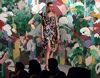 Nate Hodge Wall Mural Dress