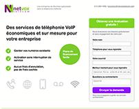 Netvox - Landing page