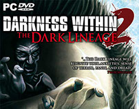 """Darkness Within 2"" - Video Game Cover Art"