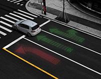 LED TRAFFIC GUIDE LINE