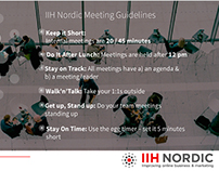 Motivational and strategy material for IHH NORDIC
