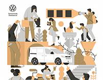 mural project | volkswagen | 2021