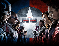 Captain America: Civil War Digital Campaign