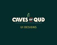UI Designs for Caves of Qud